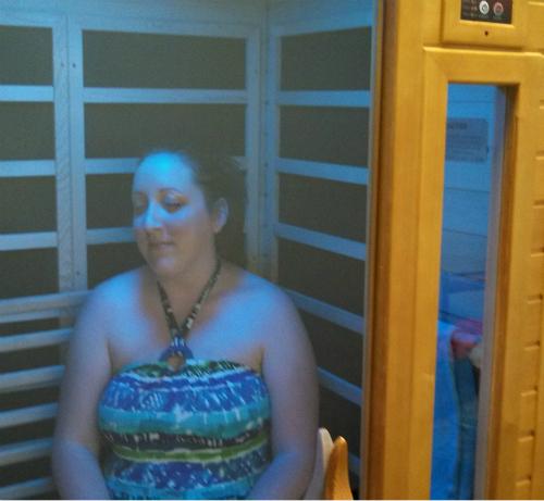 Infrared sauna benefits less heat deeper penetration for Enlighten sauna