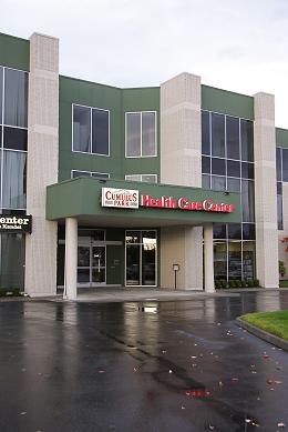 Location of Harmony Licensed Massage Therapy; Cumulus Park Health Care Center 16410 Smokey Point Blvd Suite 303 Arlington WA 98223